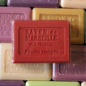 Savon Fruits Rouges